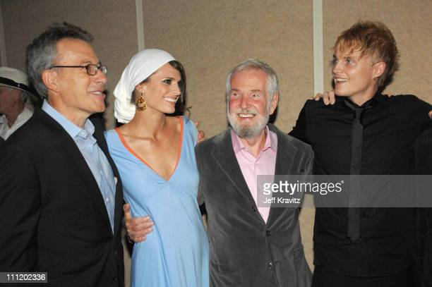 Producer Tom Rosenberg Stana Katic director Robert Benton and Toby Hemingway at the 'Feast of Love' premiere at The Academy of Motion Picture Arts...