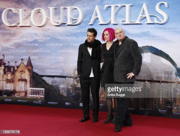 Producer Tom Tykwer director director Lana Wachowski and Andy Wachowski attend the 'Cloud Atlas' Germany premiere at Cinestar Sony Center on November...