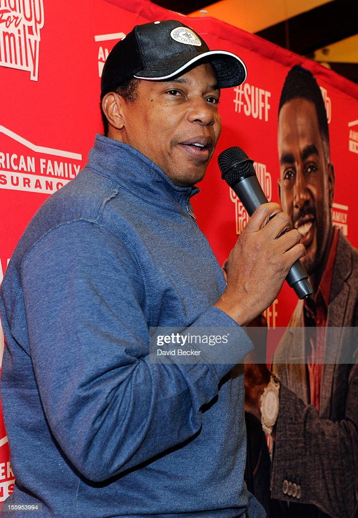 Producer Tony Cornelius speaks during the first annual Soul Train Celebrity Golf Invitational presented by Hennessy at the Las Vegas Paiute Golf Resort on November 9, 2012 in Las Vegas, Nevada.