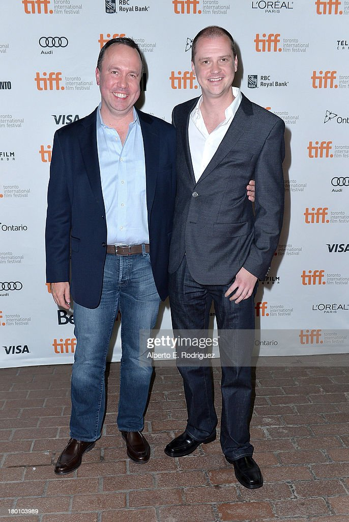 Producer Trevor Macy attend the director <a gi-track='captionPersonalityLinkClicked' href=/galleries/search?phrase=Mike+Flanagan&family=editorial&specificpeople=224999 ng-click='$event.stopPropagation()'>Mike Flanagan</a> 'Oculus' premiere during the 2013 Toronto International Film Festival at Ryerson Theatre on September 8, 2013 in Toronto, Canada.