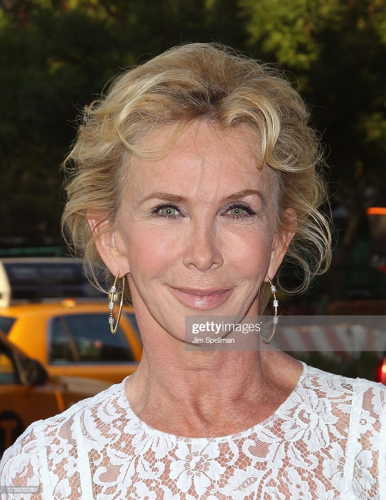 Producer Trudie Styler attends the Lionsgate And Roadside Attractions With The Cinema Society Screening Of 'Girl Most Likely' at Landmark's Sunshine Cinema on July 15, 2013 in New York City.