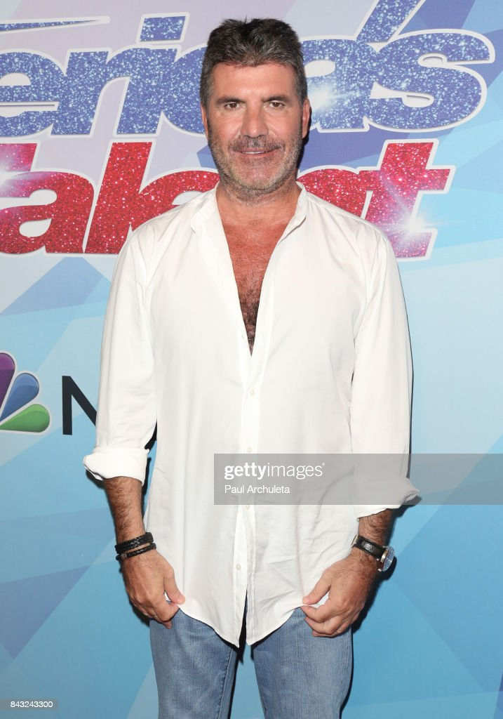 Producer / TV Personality Simon Cowell attends the NBC's 'America's Got Talent' season 12 live show at Dolby Theatre on September 5, 2017 in Hollywood, California.