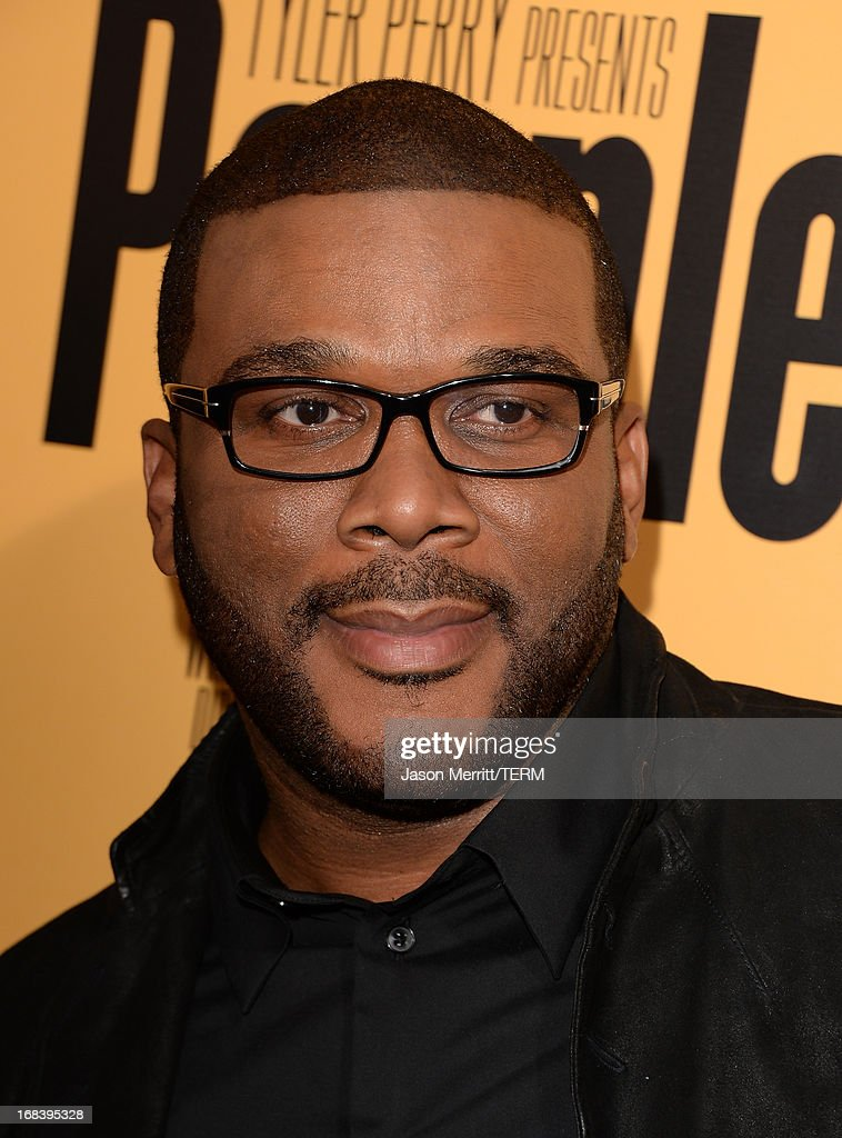 Producer Tyler Perry arrives at the premiere of 'Peeples' presented by Lionsgate Film and Tyler Perry at ArcLight Hollywood on May 8, 2013 in Hollywood, California.