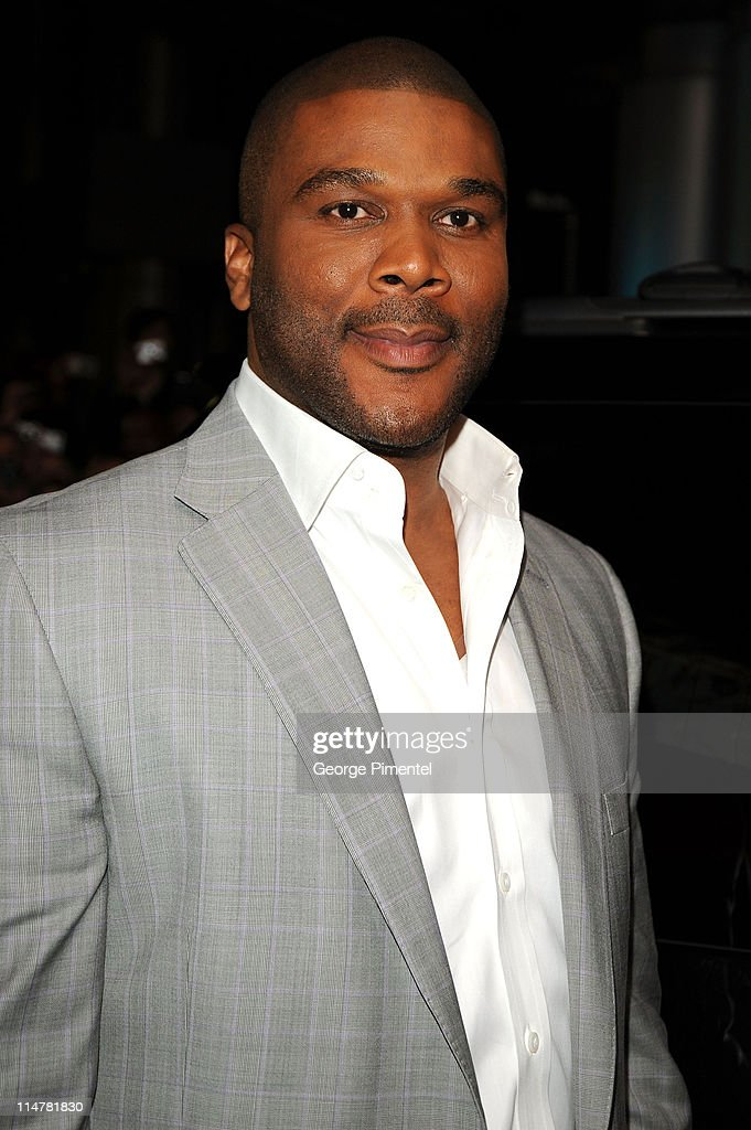 Producer Tyler Perry attends the 'Precious' Based On The Novel Push By Sapphire premiere at the Roy Thomson Hall during the 2009 Toronto...