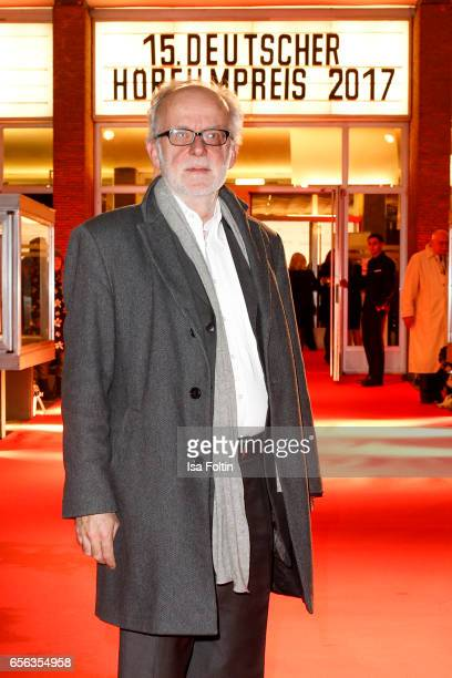 Producer Ulrich Limmer arrives at the Deutscher Hoerfilmpreis at Kino International on March 21 2017 in Berlin Germany