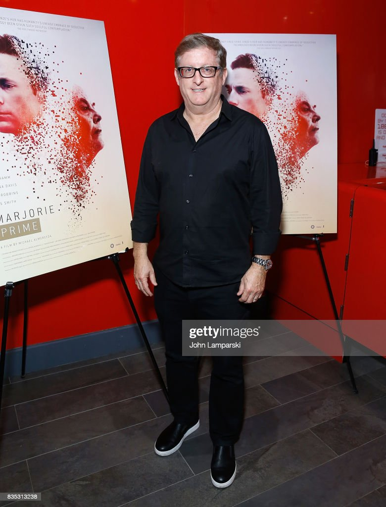 Producer Uri Singer attends 'Marjorie Prime' New York premiere on August 18, 2017 in New York City.
