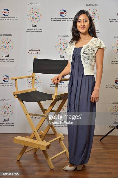 Producer Uzma Hassan of 'Flying Paper' poses during Day 3 of Ajyal Youth Film Festival on November 28 2013 in Doha Qatar