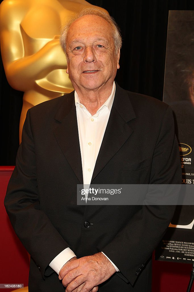 Producer Veit Heiduschka attends the 85th annual Academy Awards Foreign Language Film Award photo-op held at the Dolby Theatre on February 22, 2013 in Hollywood, California.