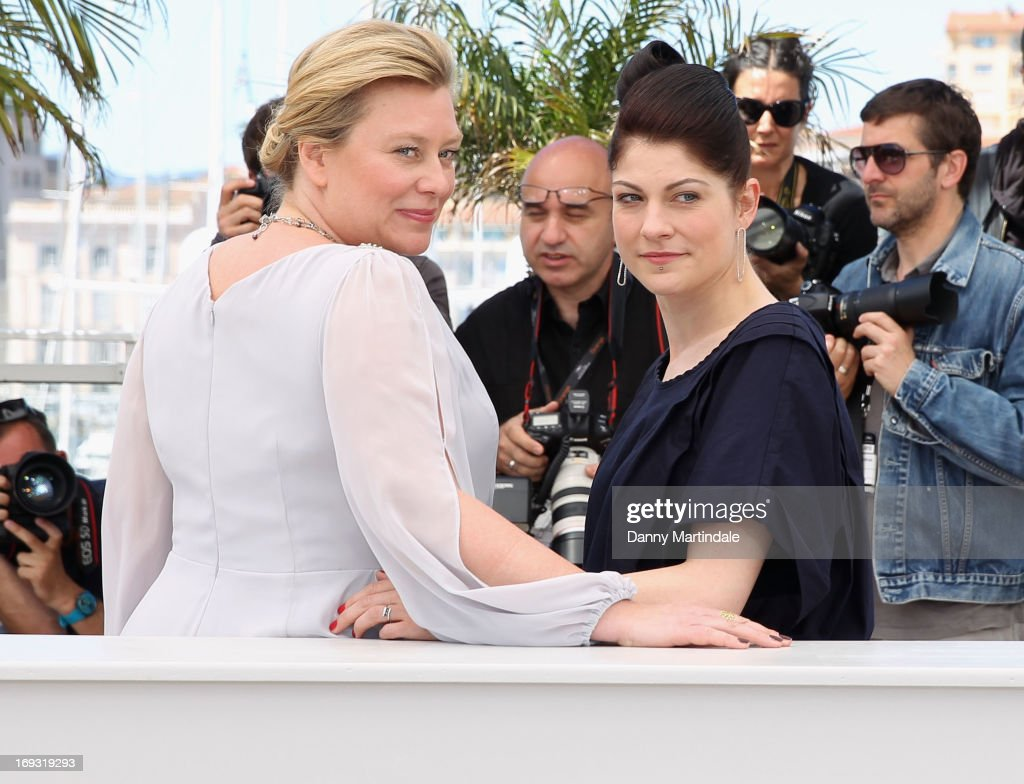 Producer Verena Grafe-Hoeft and director Katrin Gebbe attend the photocall for 'Tore Tantz' at The 66th Annual Cannes Film Festival at Palais des Festival on May 23, 2013 in Cannes, France.