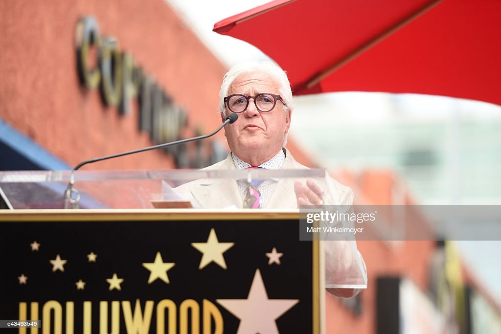 Producer Vin Di Bona attends a ceremony honoring Shirley Caesar with a Star on The Hollywood Walk of Fame on June 28, 2016 in Hollywood, California.