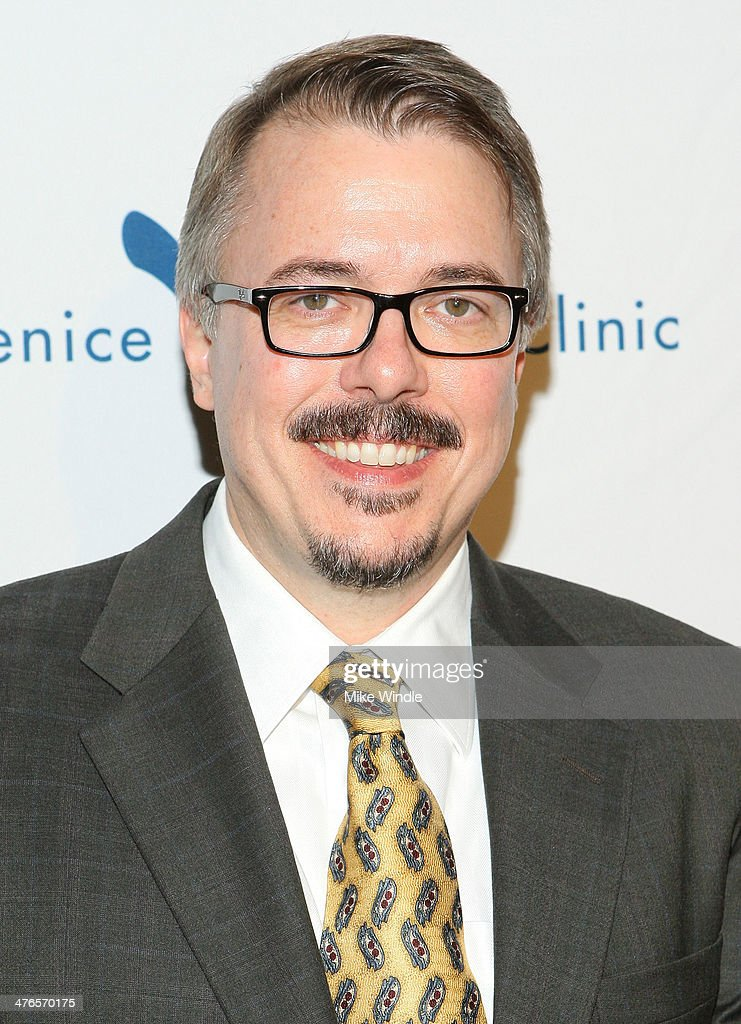 Producer <a gi-track='captionPersonalityLinkClicked' href=/galleries/search?phrase=Vince+Gilligan&family=editorial&specificpeople=4360133 ng-click='$event.stopPropagation()'>Vince Gilligan</a> attends the Venice Family Clinic's 32nd Annual Silver Circle Gala held at The Beverly Hilton Hotel on March 3, 2014 in Beverly Hills, California.