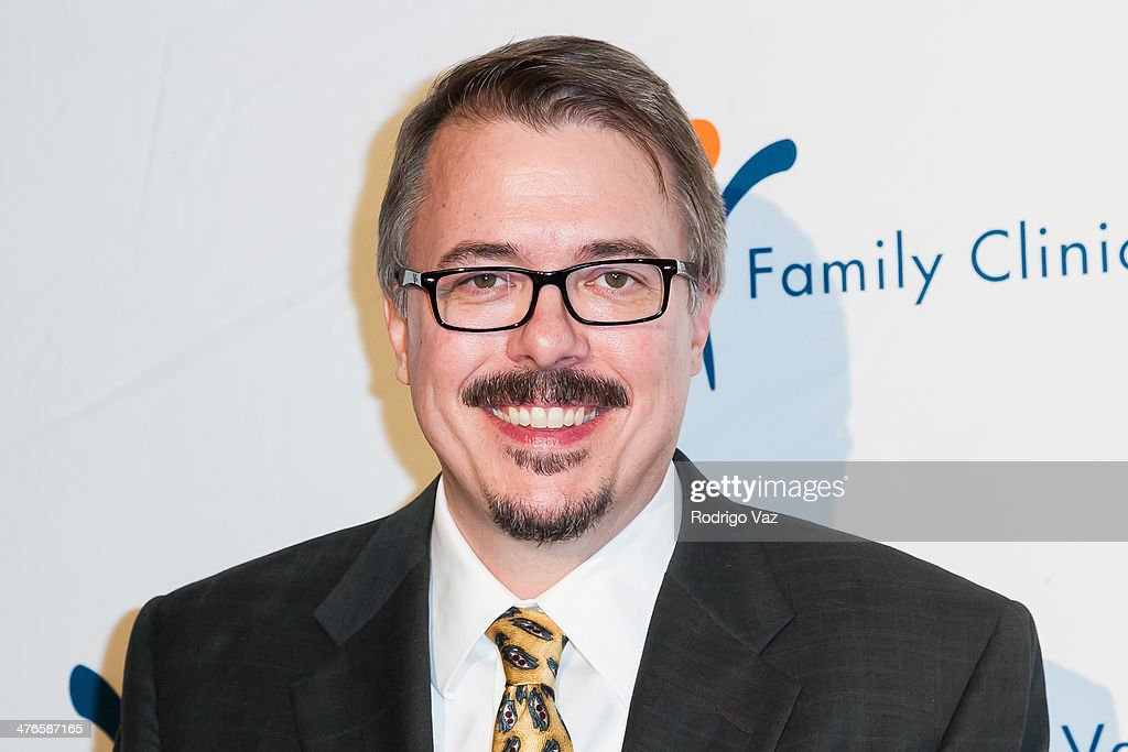 Producer <a gi-track='captionPersonalityLinkClicked' href=/galleries/search?phrase=Vince+Gilligan&family=editorial&specificpeople=4360133 ng-click='$event.stopPropagation()'>Vince Gilligan</a> attends the Venice Family Clinic's 35th Annual Silver Circle Gala at The Beverly Hilton Hotel on March 3, 2014 in Beverly Hills, California.