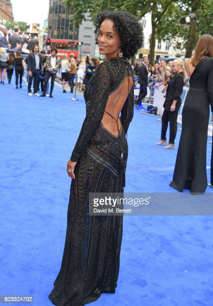 Producer Virginie BessonSilla attends the European Premiere of 'Valerian And The City Of A Thousand Planets' at Cineworld Leicester Square on July 24...