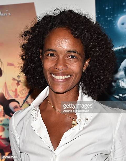 Producer Virginie BessonSilla attends the Los Angeles premiere of 'Jack And The CuckooClock Heart' at the Laemmle NoHo 7 on September 24 2014 in...