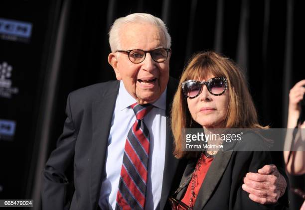 Producer Walter Mirisch and actor Lee Grant attend the 50th anniversary screening of 'In the Heat of the Night' during the 2017 TCM Classic Film...