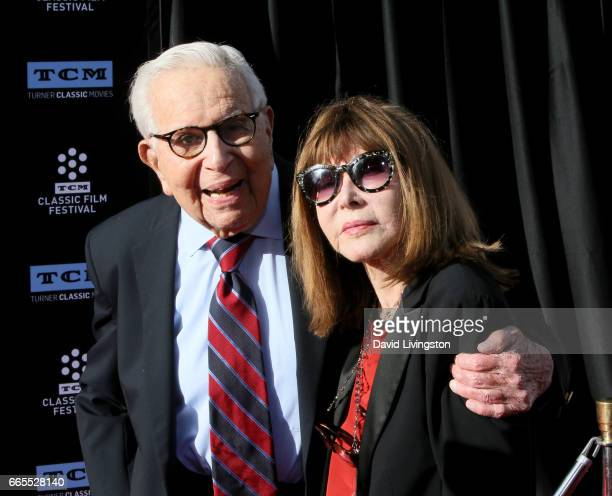 Producer Walter Mirisch and actress Lee Grant attend the 2017 TCM Classic Film Festival's Opening Night Gala and 50th Anniversary Screening of 'In...