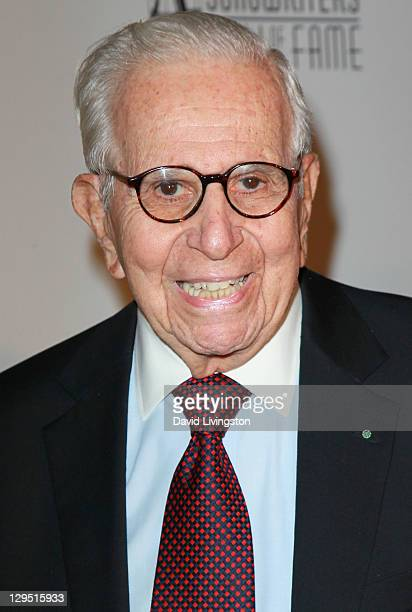 Producer Walter Mirisch attends 'Love Sweet Love' a musical tribute to Hal David at the Mark Taper Forum on October 17 2011 in Los Angeles California