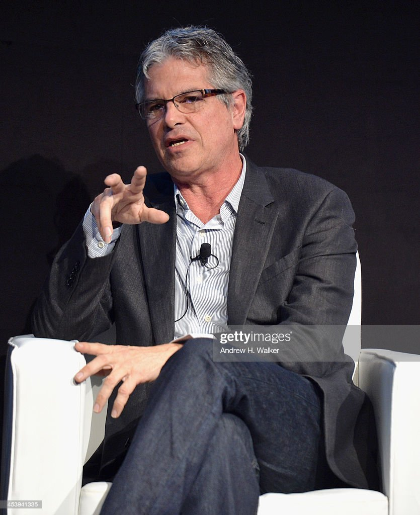 Producer Walter Parkes speaks on stage at the Cinematic Innovation Summit ahead of the 10th Annual Dubai International Film Festival at Atlantis, The Palm Hotel on December 6, 2013 in Dubai, United Arab Emirates.