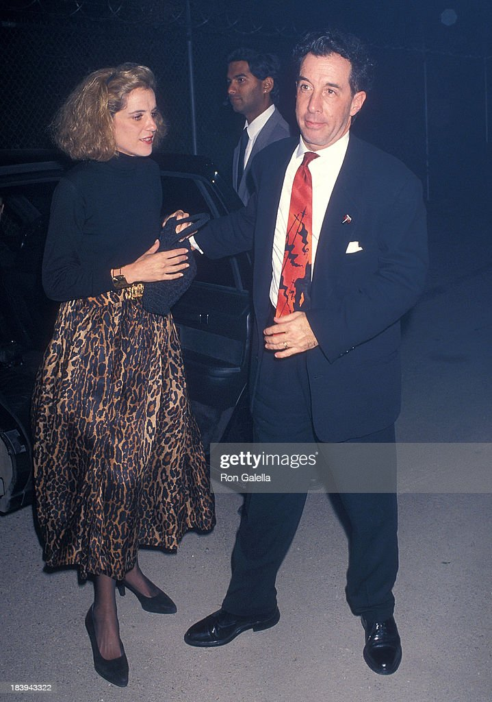 Producer Wendy Finerman and producer Mark Canton attend the 'Bram Stoker's Dracula' Hollywood Premiere on November 10 1992 at the Mann's Chinese...