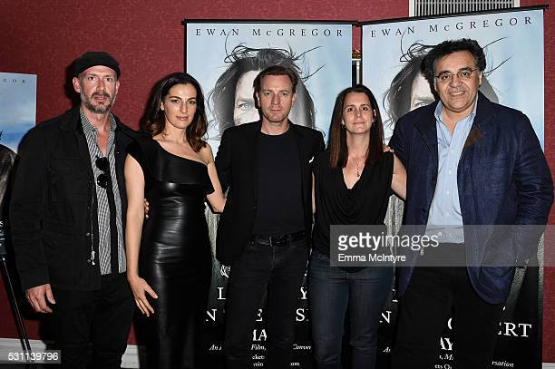 Producer Wicks Walker actors Rodrigo Garcia and Ewan McGregor producer Julie Lynn and writer/director Rodrigo Garcia arrive at a screening of Broad...