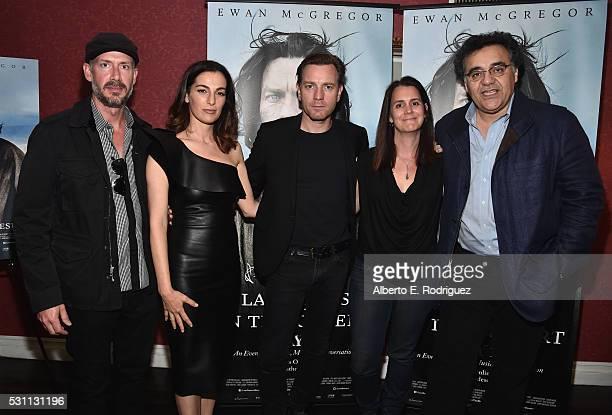 Producer Wicks Walker actress Ayelet Zurer actor Ewan McGregor producer Julie Lynn and director Rodrigo Garcia attend a VIP screening of Broad Green...