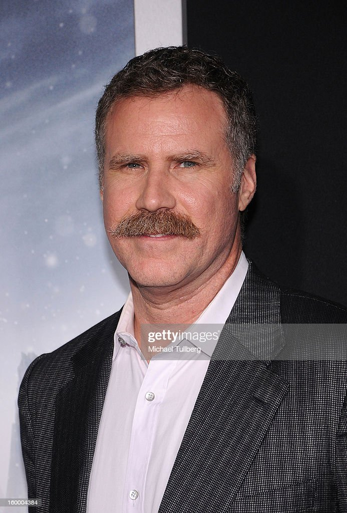 Producer Will Ferrell arrives at the premiere of the movie 'Hansel And Gretel Witch Hunters' at TCL Chinese Theatre on January 24, 2013 in Hollywood, California.