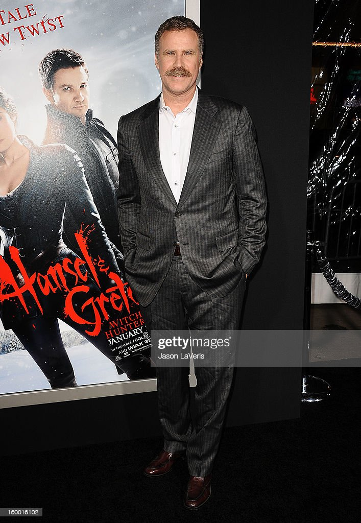 Producer <a gi-track='captionPersonalityLinkClicked' href=/galleries/search?phrase=Will+Ferrell&family=editorial&specificpeople=171995 ng-click='$event.stopPropagation()'>Will Ferrell</a> attends the premiere of 'Hansel & Gretel: Witch Hunters' at TCL Chinese Theatre on January 24, 2013 in Hollywood, California.