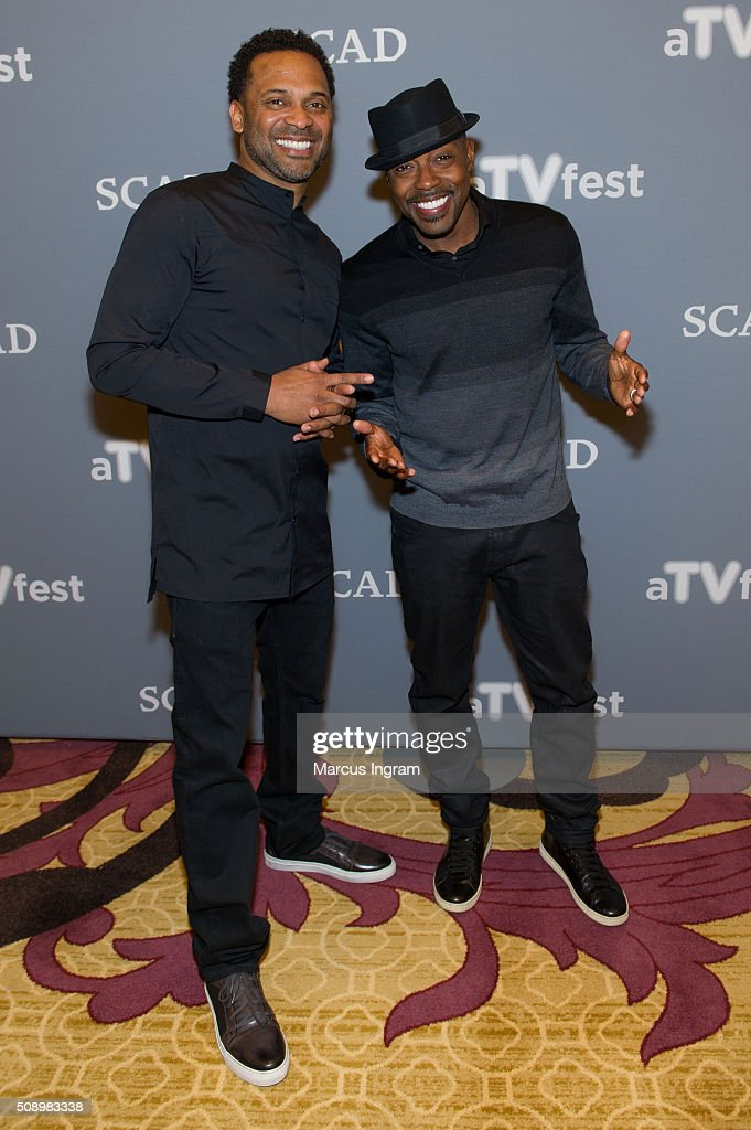 Producer <a gi-track='captionPersonalityLinkClicked' href=/galleries/search?phrase=Will+Packer&family=editorial&specificpeople=2236133 ng-click='$event.stopPropagation()'>Will Packer</a> and actor <a gi-track='captionPersonalityLinkClicked' href=/galleries/search?phrase=Mike+Epps&family=editorial&specificpeople=2137559 ng-click='$event.stopPropagation()'>Mike Epps</a> attend 'Uncle Buck' event during SCAD aTVfest 2016 Day 4 at the Four Seasons Atlanta Hotel on February 7, 2016 in Atlanta, Georgia.