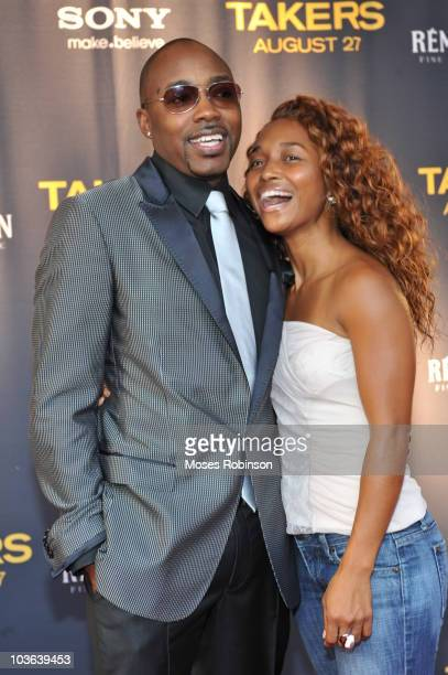 Producer Will Packer and Rozonda 'Chilli' Thomas attend the 'Takers' premiere at Regal Atlantic Station on August 24 2010 in Atlanta Georgia