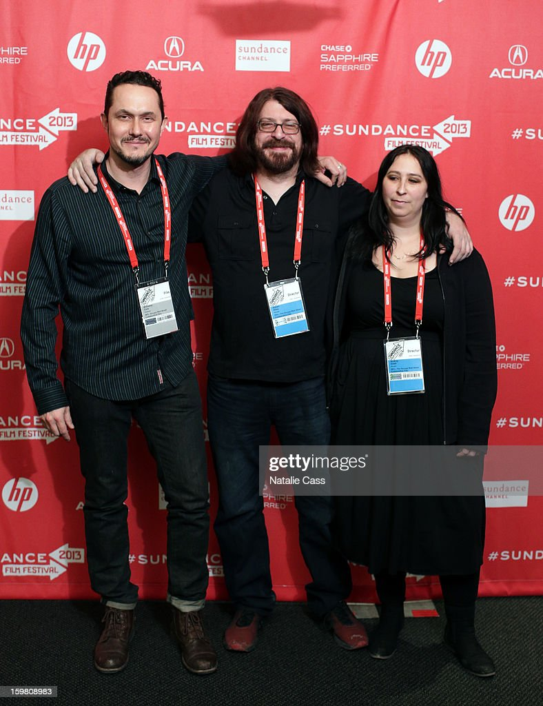 Producer Williams Cole and directors Aaron Aites and Audrey Ewell attend the '99% - The Occupy Wall Street Collaborative Film' premiere at Egyptian Theatre during the 2013 Sundance Film Festival on January 20, 2013 in Park City, Utah.