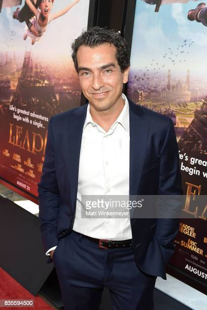 Producer Yann Zenou attend the Weinstein Company's 'LEAP' at The Grove on August 19 2017 in Los Angeles California