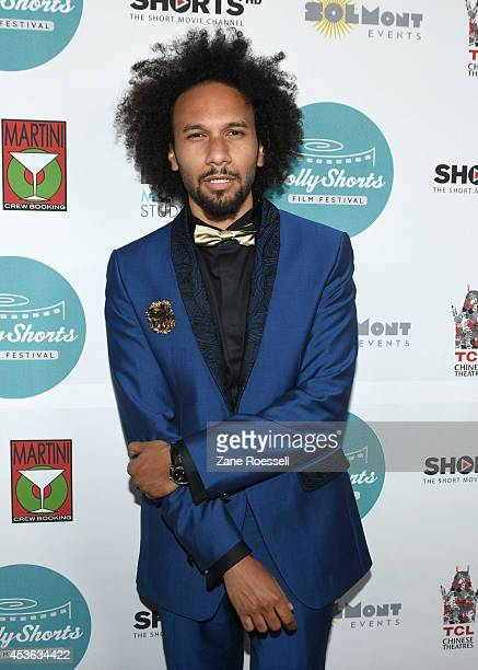 Producer Yassine Azzouz arrives at 10th Anniversary HollyShorts Opening Night Gala at TCL Chinese Theatre on August 14 2014 in Hollywood California