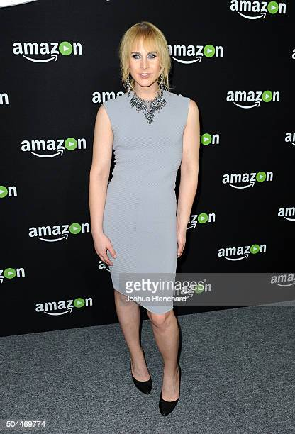 Producer Zackary Drucker attends Amazon Studios Golden Globe Awards Party at The Beverly Hilton Hotel on January 10 2016 in Beverly Hills California