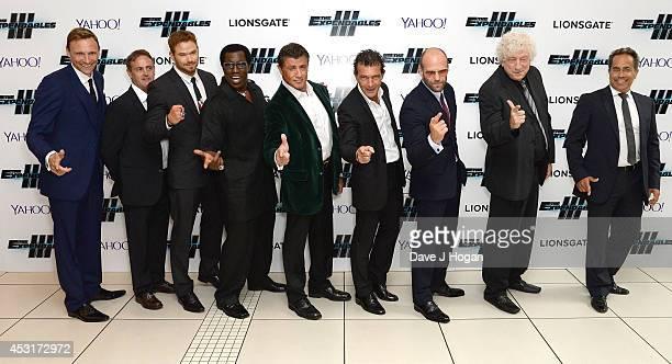 Producer Zygi Kamasa guest actors Kellan Lutz Wesley Snipes Sylvester Stallone Antonio Banderas Jason Statham producer Avi Lerner and guest attend...