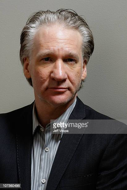 Producer/actor Bill Maher of 'Religilous' at the 2007 Diesel Portrait Studio Presented by Wireimage and Inside Entertainment on September 9 2007 in...