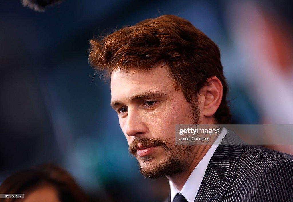 Producer/actor <a gi-track='captionPersonalityLinkClicked' href=/galleries/search?phrase=James+Franco&family=editorial&specificpeople=577480 ng-click='$event.stopPropagation()'>James Franco</a> speaks to the media during 'The Director' World Premiere during the 2013 Tribeca Film Festival on April 21, 2013 in New York City.