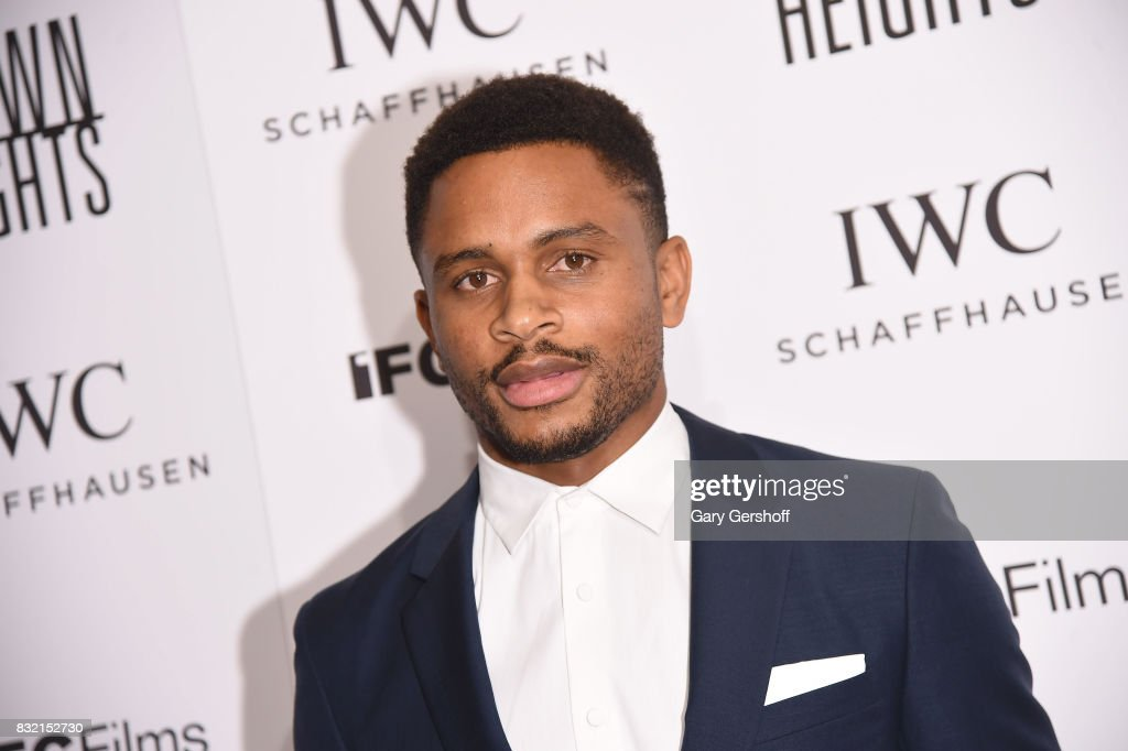 Producer/actor Nnamdi Asomugha attends the 'Crown Heights' New York premiere at The Metrograph on August 15, 2017 in New York City.