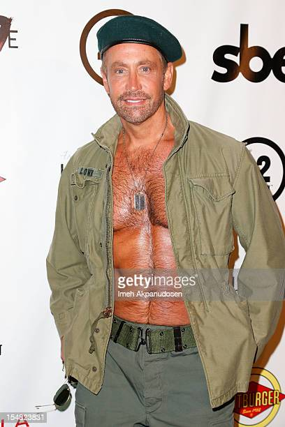 Producer/actor Peter Marc Jacobson attends Fred Jason's Annual Halloweenie Celebrity Charity Event on October 26 2012 in Los Angeles California