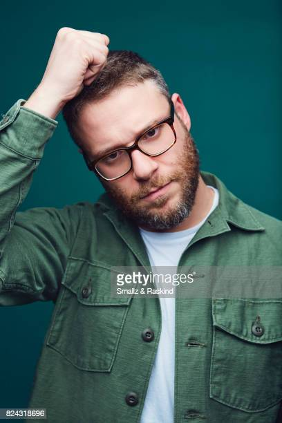 Producer/actor Seth Rogan of Hulu's 'Future Man' poses for a portrait during the 2017 Summer Television Critics Association Press Tour at The Beverly...