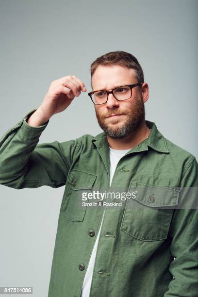 Producer/actor Seth Rogen of Hulu's 'Future Man' poses for a portrait during the 2017 Summer Television Critics Association Press Tour at The Beverly...