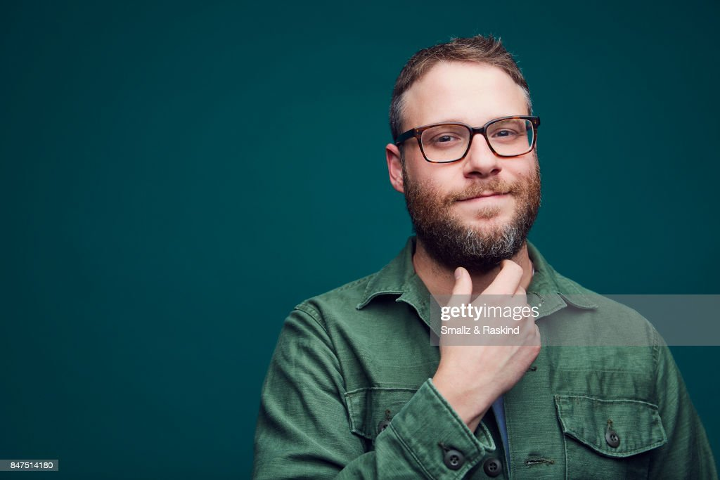 Producer/actor Seth Rogen of Hulu's 'Future Man' poses for a portrait during the 2017 Summer Television Critics Association Press Tour at The Beverly Hilton Hotel on July 27, 2017 in Beverly Hills, California.