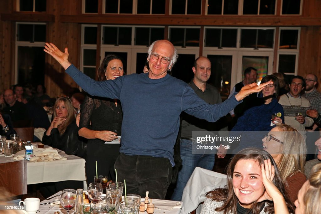 Producer/actor/writer <a gi-track='captionPersonalityLinkClicked' href=/galleries/search?phrase=Larry+David&family=editorial&specificpeople=125184 ng-click='$event.stopPropagation()'>Larry David</a> attends the Deer Valley Celebrity Skifest at Deer Valley Resort on December 7, 2012 in Park City, Utah.