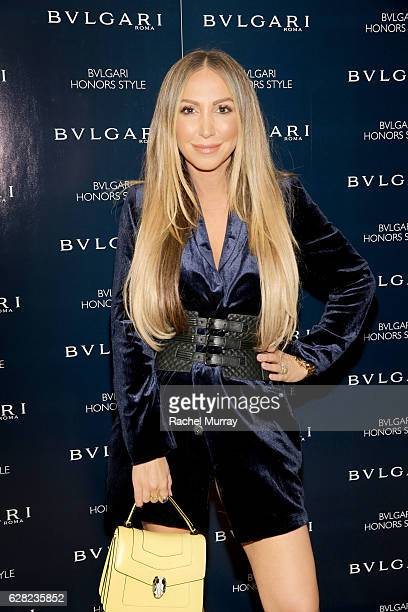 Producer/Actress Diana Madison attends Bulgari Honors Style cocktail party at Chateau Marmont on December 6 2016 in Los Angeles California