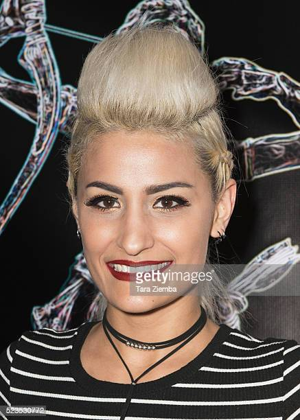 Producer/Actress Nicole Alonso attends the 2nd Annual Artemis Film FestivalRed Carpet Opening Night/Awards Presentation at Ahrya Fine Arts Movie...