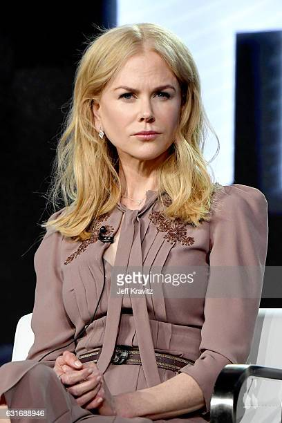 Producer/actress Nicole Kidman of the limited series 'Big Little Lies' speaks onstage during the HBO portion of the 2017 Winter Television Critics...