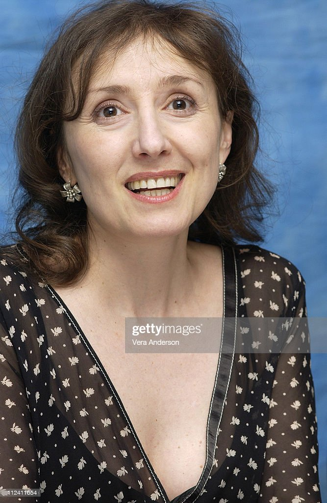 Producer/actress Nicoletta Braschi during 'Pinocchio' Press Conference with Roberto Benigni and Nicoletta Braschi at Essex House in New York City, New York, United States.