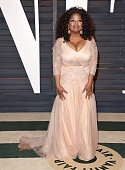 Producer/actress Oprah Winfrey arrives at the 2015 Vanity Fair Oscar Party Hosted By Graydon Carter at Wallis Annenberg Center for the Performing...