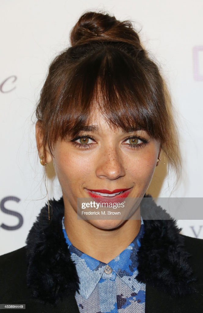 Producer/actress Rashida Jones attends DETAILS Celebrates The 2013 Hollywood Mavericks at the Soho House on December 5, 2013 in West Hollywood, California.