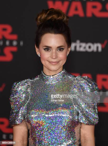 Producer/actress Rosanna Pansino attends the premiere of Disney Pictures and Lucasfilm's 'Star Wars The Last Jedi' at The Shrine Auditorium on...