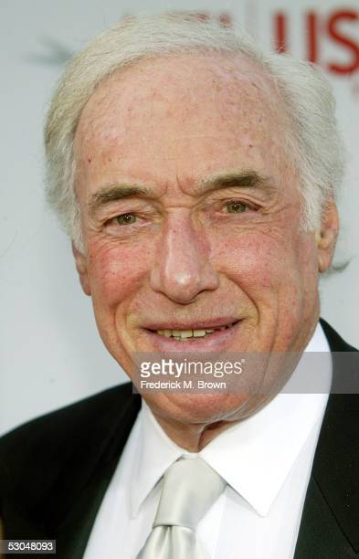 Producer/director Bud Yorkin arrives at the 33rd AFI Life Achievement Award tribute to George Lucas at the Kodak Theatre on June 9 2005 in Hollywood...